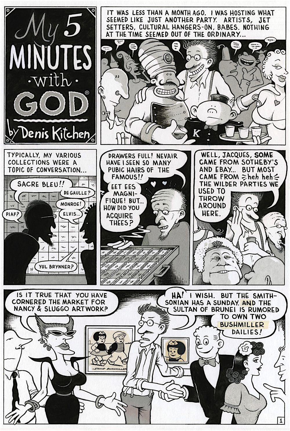 Denis                                                           Kitchen Five                                                           Minutes With                                                           God