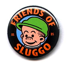 friends of sluggo button